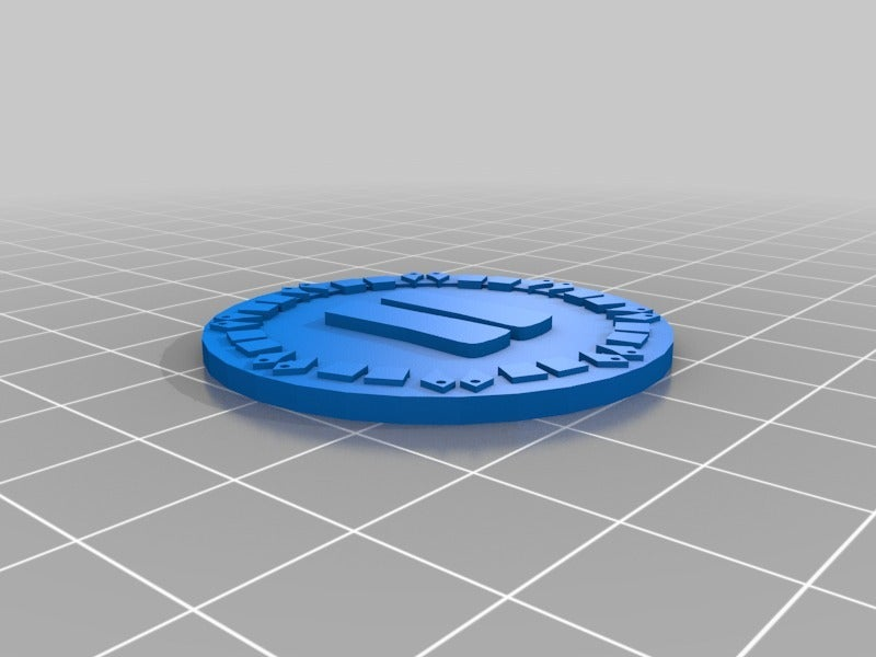 orky_objective_tokens_two.png Download free STL file orky objective marker and base • 3D printer object, onebitpixel