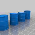 battered_barrels_upright.png Download free STL file Battered Barrel - Repaired + STL Version • 3D printable design, onebitpixel