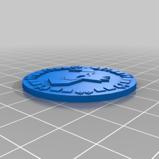 orky_objective_tokens6.png Download free STL file orky objective marker and base • 3D printer object, onebitpixel