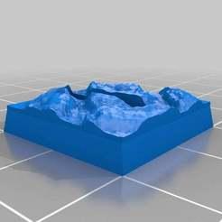 Download free 3D printing designs Ult Parametric Base - 20mm Horz Slot; HQ Stone Floor 2, onebitpixel