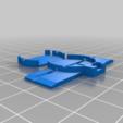 Postcard_LED_PhotoFrame_LEDBridge.png Télécharger fichier STL gratuit Cadre photo LED flottant • Plan imprimable en 3D, onebitpixel