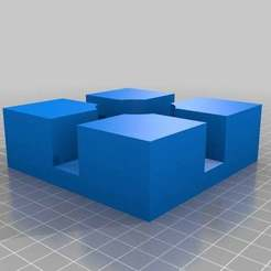 "Download free 3D printer model Cabinet Framing Corner Jig - 3/4"", onebitpixel"