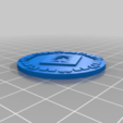orky_objective_tokens12.png Download free STL file orky objective marker and base • 3D printer object, onebitpixel