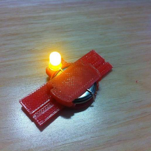 IMG_1809.JPG Télécharger fichier STL gratuit Cadre photo LED flottant • Plan imprimable en 3D, onebitpixel