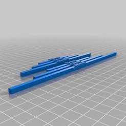 Download free 3D printer model Song of Blades and Heroes - Measuring Sticks; Standard Format, onebitpixel