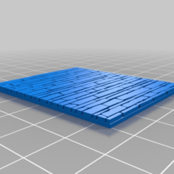 Download free 3D printer designs Tileable Brick Wall, onebitpixel