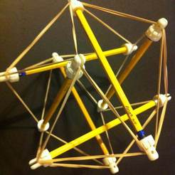 IMG_1780.JPG Download free STL file Tensegrity Topper • 3D printer object, onebitpixel
