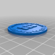 orky_objective_tokens_lots.png Download free STL file orky objective marker and base • 3D printer object, onebitpixel