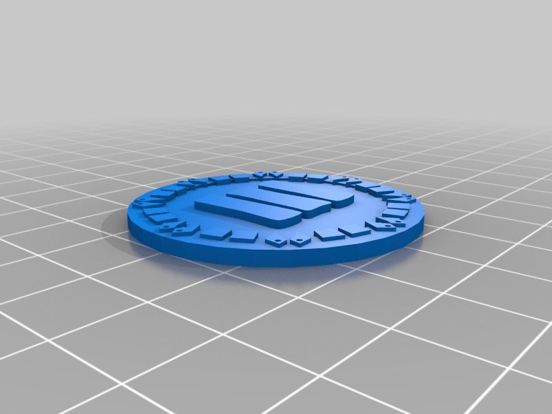 orky_objective_tokens_three.png Download free STL file orky objective marker and base • 3D printer object, onebitpixel