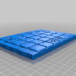 Télécharger objet 3D gratuit Plateau de jeu Mouse Guard, onebitpixel