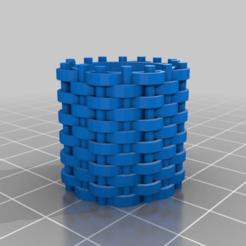 Télécharger fichier imprimante 3D gratuit Gabion et tonneaux de vin, onebitpixel