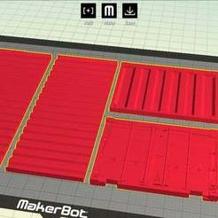 Download free 3D printing files Yet Another Cargo Container, onebitpixel