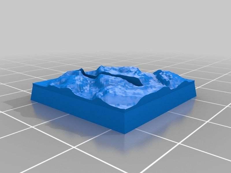 ultimate_base_generator_20140916-20060-15ya3lt-0.jpg Télécharger fichier STL gratuit Base paramétrique Ult - fente Horz 25 mm ; sol en pierre du QG 2 • Modèle pour impression 3D, onebitpixel