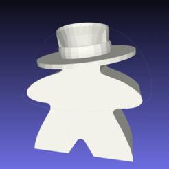 Télécharger fichier STL gratuit Meeple Adventurer, onebitpixel
