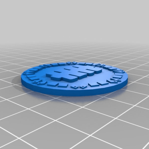 orky_objective_tokens_five.png Download free STL file orky objective marker and base • 3D printer object, onebitpixel