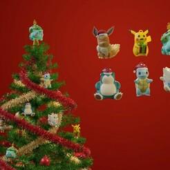 un2d2dtitled.jpg Télécharger fichier STL Décorations de Noël Pokémon • Modèle imprimable en 3D, Hirama