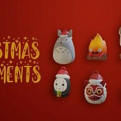 untitled2.jpg Télécharger fichier STL Décorations de Noël du Studio Ghibli • Modèle imprimable en 3D, Hirama