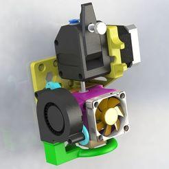 Bondtech_1.jpg Télécharger fichier STL gratuit Bondtech Direct Drive pour l'extrudeuse de type Ender3 sur Anet A8 & 3DLS • Design imprimable en 3D, MorganLowe