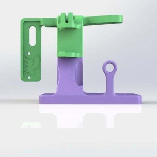 Not_Bowden_13.JPG Télécharger fichier STL gratuit Un support d'extrudeuse Stock-ish pour Anet A8 et Alike ! (Inclut la chaîne et la monture ou sans chaîne !) • Objet pour impression 3D, MorganLowe