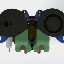 Dual_Cr-10_1.JPG Télécharger fichier STL gratuit Kit double extrudeuse pour CR-10 ou Ender3 ! • Modèle pour impression 3D, MorganLowe