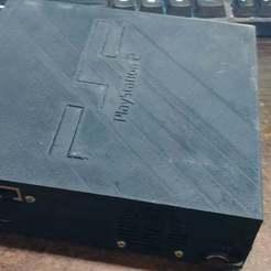20200130_174642.jpg Télécharger fichier STL gratuit Console Playstation 2 Raspberry Pi ! • Modèle pour imprimante 3D, MorganLowe