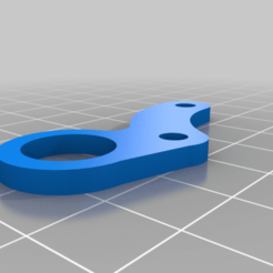 Rostock_Mini_12MM_Sensor_Mount.png Download free STL file Rostock Mini 12mm Sensor Mount • 3D printable design, MorganLowe