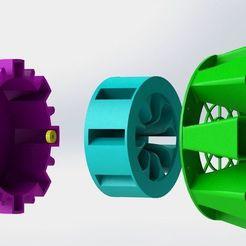 Air_Raid_6.jpg Download free STL file Stepper Motor Air Raid Siren • 3D printing object, MorganLowe