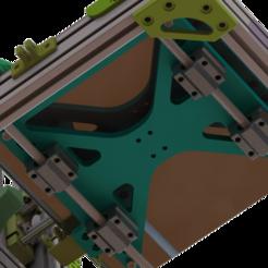 Ender_bed_mount_5.png Télécharger fichier STL gratuit AM8 Y Kit de transport pour Ender3 Bed • Objet à imprimer en 3D, MorganLowe
