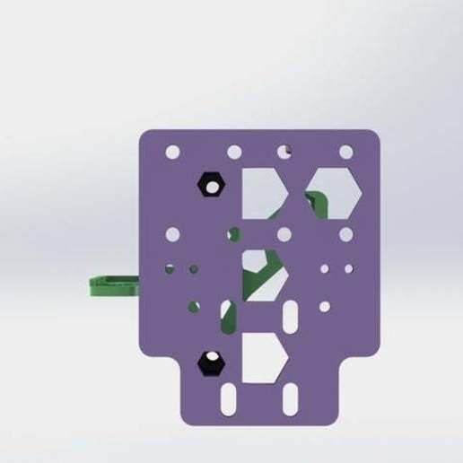 Not_Bowden_11.JPG Télécharger fichier STL gratuit Un support d'extrudeuse Stock-ish pour Anet A8 et Alike ! (Inclut la chaîne et la monture ou sans chaîne !) • Objet pour impression 3D, MorganLowe