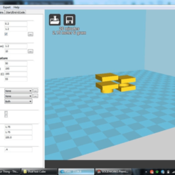 Screenshot_2018-11-06_16.23.01.png Download free STL file 20mm Layered Dual Extrusion Test Cube • 3D printing template, MorganLowe
