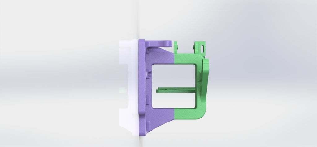 Not_Bowden_10.JPG Télécharger fichier STL gratuit Un support d'extrudeuse Stock-ish pour Anet A8 et Alike ! (Inclut la chaîne et la monture ou sans chaîne !) • Objet pour impression 3D, MorganLowe