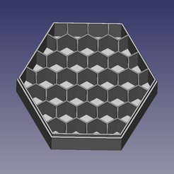 boite_batteries_nid_abeille.png Download free STL file AA-AAA honeycomb battery box • 3D printing model, renaud59