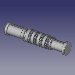 cryptex_eclate_3d.png Download free STL file Cryptex with 4 alphabetic multicombination rings • 3D printing object, renaud59