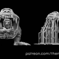 sniper.jpg Descargar archivo STL gratis Ballestero duende jinete (pre-sostenido) • Objeto imprimible en 3D, theminidm