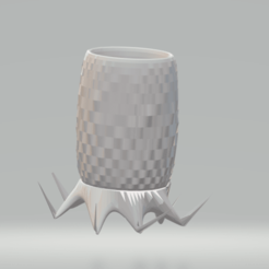 Adsız.png Download STL file PLANTER • Template to 3D print, mertaymm