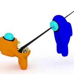 Among us - impostor.png Télécharger fichier STL Parmi nous - Meurtre • Objet à imprimer en 3D, JohnnyRyu