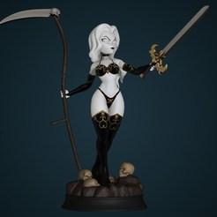 1.jpeg Download STL file Lady Death + NSFW version (Cartoon) • 3D printing model, 3dzilla