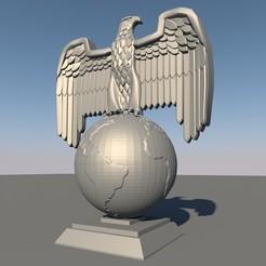 0.jpg Download STL file Eagle Figure • 3D print model, Alfadraconis96