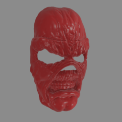 mask1.png Download STL file Eddie - Mask - Iron Maiden like  • Model to 3D print, GreenhornSculpting