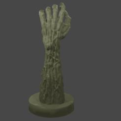 ZH1.png Download STL file Zombie Hand • 3D print design, GreenhornSculpting