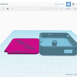 08D87AB2-D61E-4542-82CD-DBB1DCAF5DF2.png Download free STL file Demo LED Lamp ,Simple and Futuristic Design @ • Design to 3D print, assemhssini