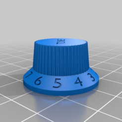99604e94ee242a7a3a227dbac566e1d5.png Download free STL file Left/Right Fender Strat Guitar Knob • 3D printer object, carmnu