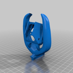 f4b661f233c01864bffab98930761c24.png Download free STL file High Clearance CR10 OEM Fang Mod for opposite heatsink • 3D printable object, carmnu