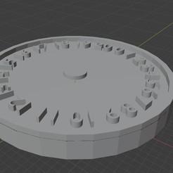 0-20 Dial.jpg Download STL file Happy Elves 0-20 Wound Tracker 3D print model • 3D printer design, paulsmith4787
