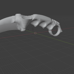 Captura de pantalla 2020-10-08 185134.png Download OBJ file Karambit Knife - Counter Strike GO- Knife • 3D printer template, Omgsamuel