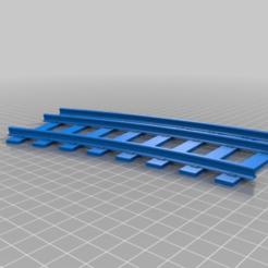 95ea959146d2d6627d22bd533f19f685.png Download free SCAD file Dual-Gauge Parametric Railway Tracks - Curve • 3D printable model, trotfox
