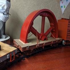 image.png Download free STL file Quartered 20' flywheel • 3D printer design, trotfox