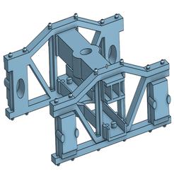 bachmann-trucks.PNG Télécharger fichier STL gratuit Un camion de type archibus basé sur le LGB & Bachmann Big Hauler • Plan pour imprimante 3D, trotfox