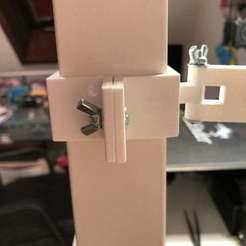 Foto_05.06.19_21_59_26.jpg Télécharger fichier STL gratuit IKEA LACK IP-Kamera-Halter / IKEA LACK IP Camera Holder • Objet pour imprimante 3D, taoros
