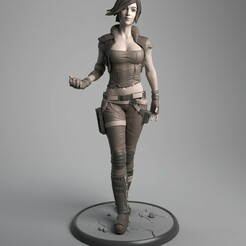 Lilith_01_A.jpg Download STL file Lilith • Template to 3D print, epicpiratescollectibles